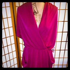 Rachel Roy Fuchsia Dress. Has tags on it. XLarge.